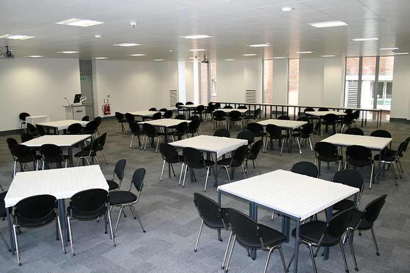 Extra large classroom